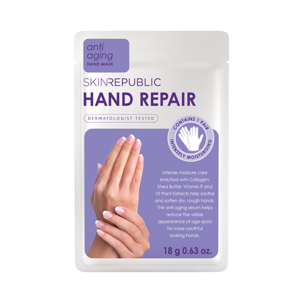 Skin Republic Hand Repair naamiokäsineet